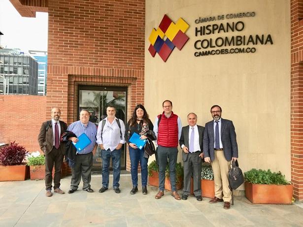 Diez empresas de construcción, metal, energías renovables y TIC participan en la misión comercial multisectorial organizada por ASTUREX a Colombia