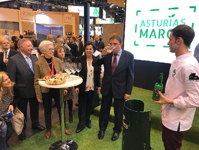 El Gobierno del Principado promociona el sector agroalimentario en el 33 Salón Gourmets de Madrid