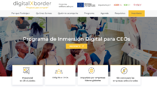 Llega a Asturias digitalXborder, el programa de inmersión digital 360º, diseñado especialmente para CEOs