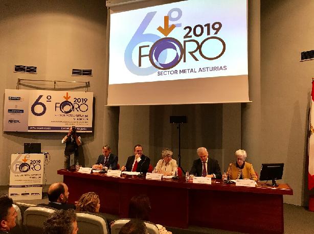Un total de 119 compañías internacionales y 56 empresas asturianas participaron este año en la sexta edición del Foro del Metal